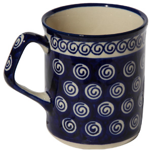 Polish Pottery Coffee Mug 8.5 oz.