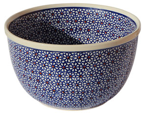 Polish Pottery Mixing Bowl 67 Oz.
