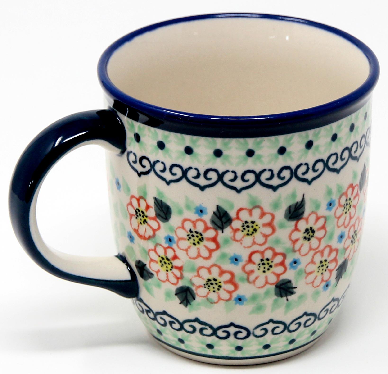 Mug 12 Oz Polish Pottery In 227art A Unikat Signature Pattern 12 Ounce Mugs Polish Pottery Mugs Polish Pottery Market