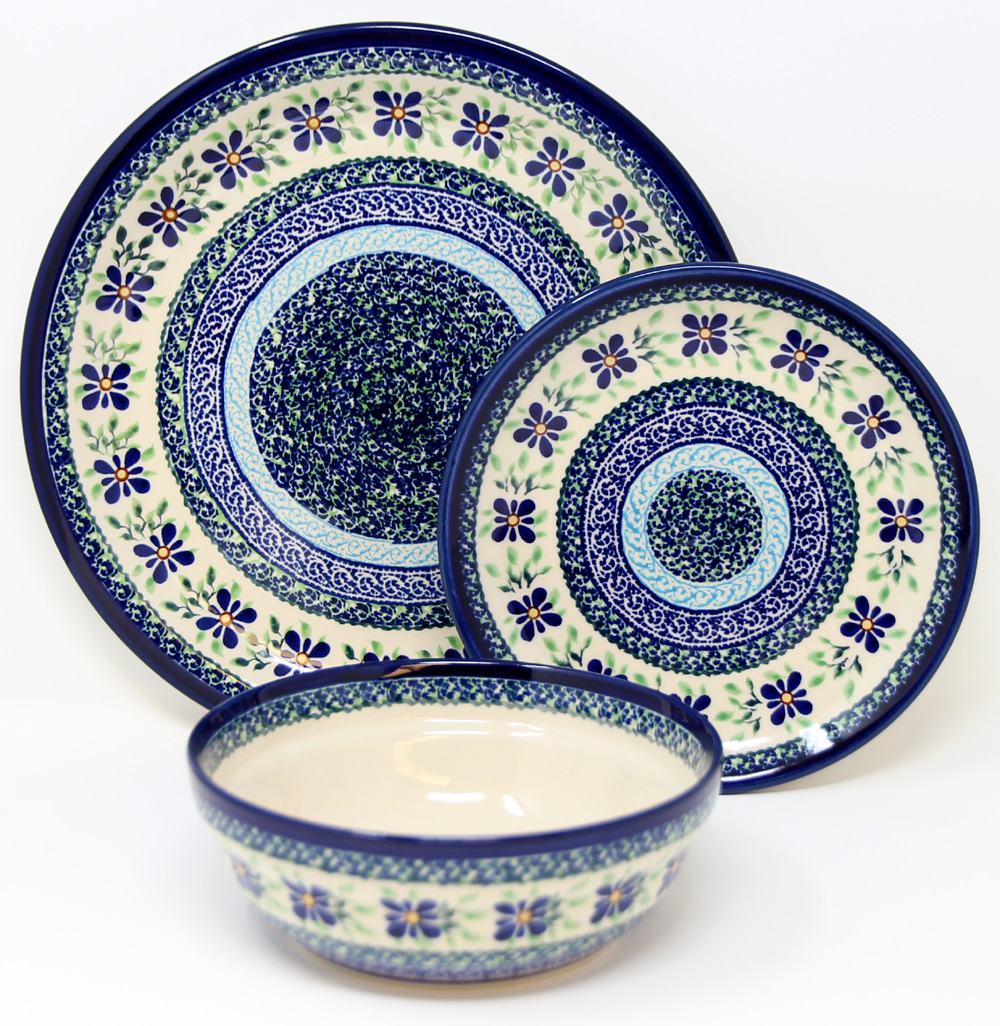 3 Piece Place Setting, Pattern DU121