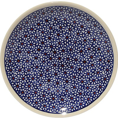 Polish Pottery Salad Plate 7.5