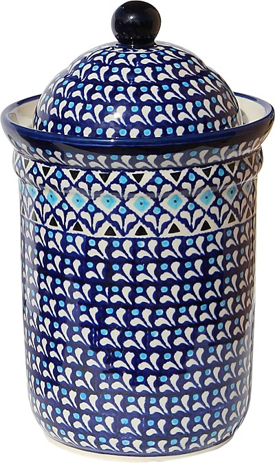 Polish Pottery Canister 5.5 Cups