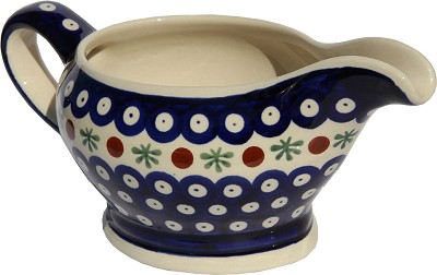 Polish Pottery Gravy Boat 16 Oz., Classic Design 41