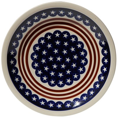 Polish Pottery Dinner Plate, Classic Design 81
