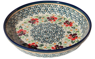 Polish Pottery Pie Dish