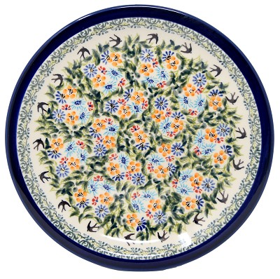 Dinner Plate 10.75 Inch Diameter from Zaklady Boleslawiec