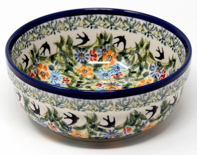Bowl 6 Inch Diameter from Zaklady Polish Pottery