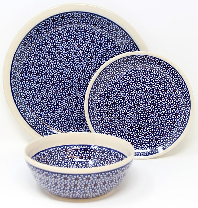 3 Piece Place Setting, Classic Design 120